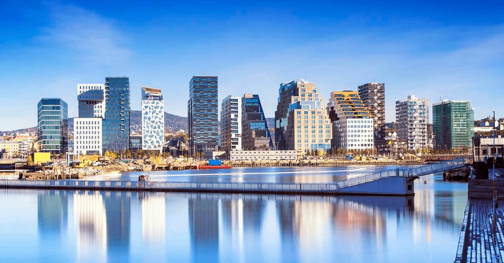 Oslas Norvegija
